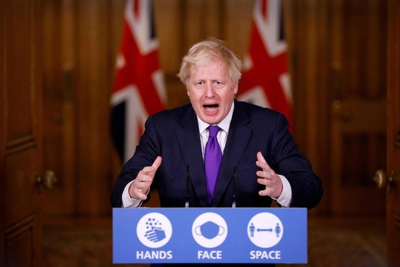 Premier Boris Johnson /AFP