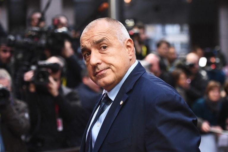 Premier Bułgarii Bojko Borysow /AFP