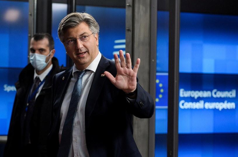 Premier Chorwacji Andrej Plenkovic /JOHANNA GERON /PAP/EPA