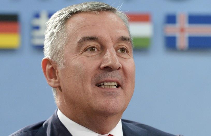 Premier Czarnogóry Milo Djukanović /AFP