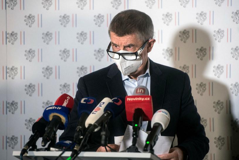Premier Czech Andrej Babisz /MICHAL CIZEK/AFP/ /East News
