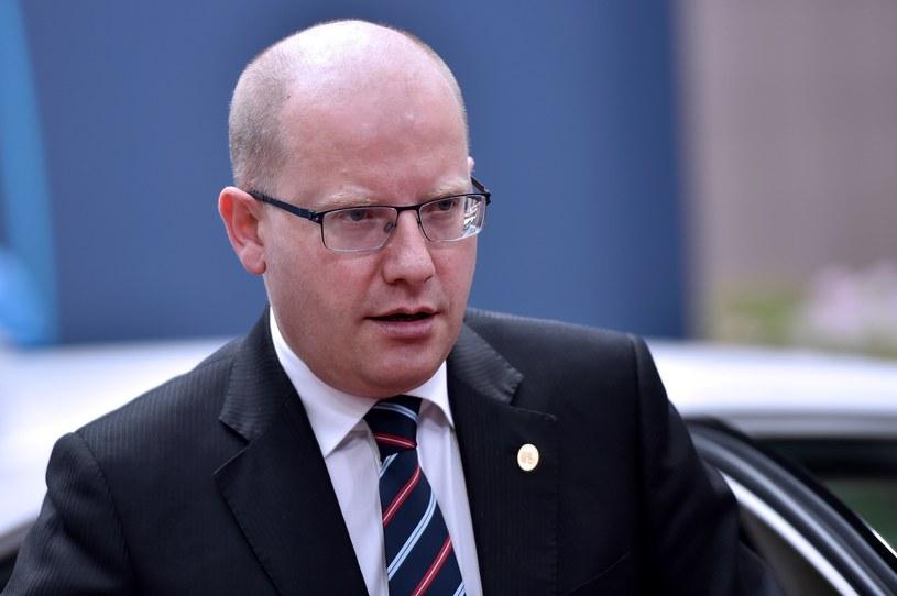 Premier Czech Bohuslav Sobotka /AFP