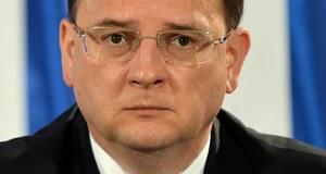 Premier Czech zapowiedział rezygnację