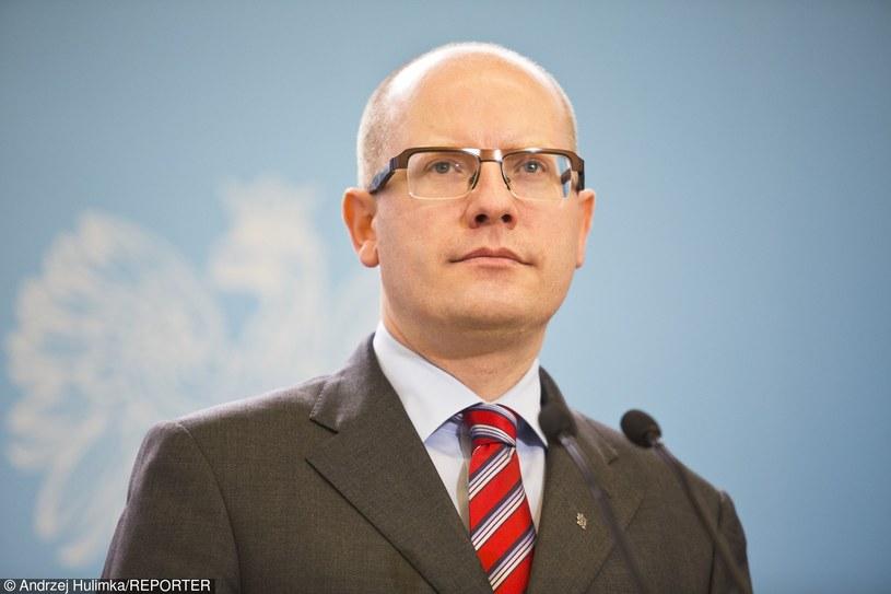 Premier Czech /Andrzej Hulimka  /Reporter
