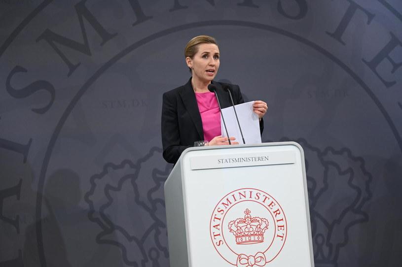 Premier Danii Mette Frederiksen /Philip Davali / Ritzau Scanpix /AFP