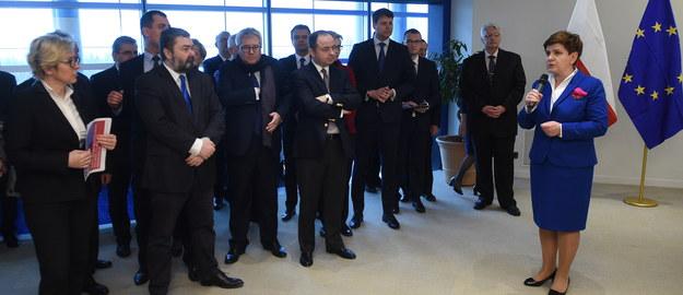 Premier do polskich europosłów: Mam nadzieję, że dyskusja w  PE będzie merytoryczna