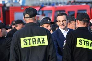 Premier do strażaków: Solidarność z innymi jest polską narodową specjalnością