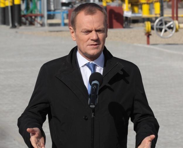 Premier Donald Tusk / fot. L. Muszyński /PAP