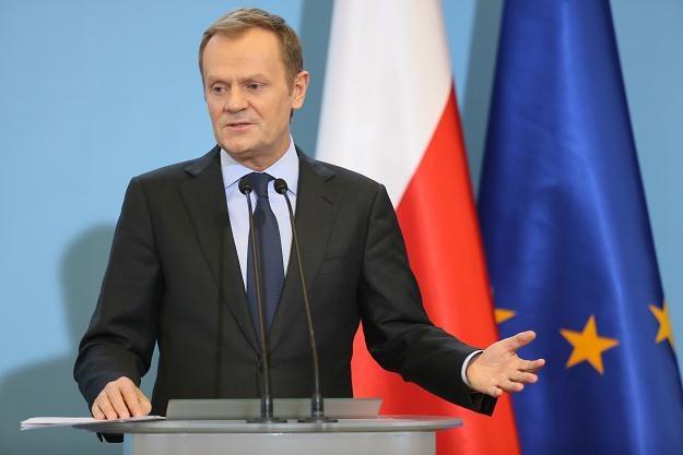 Premier Donald Tusk, fot. Leszek Szymański /PAP
