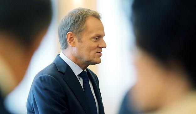 Premier Donald Tusk/fot. Radek Pietruszka /PAP