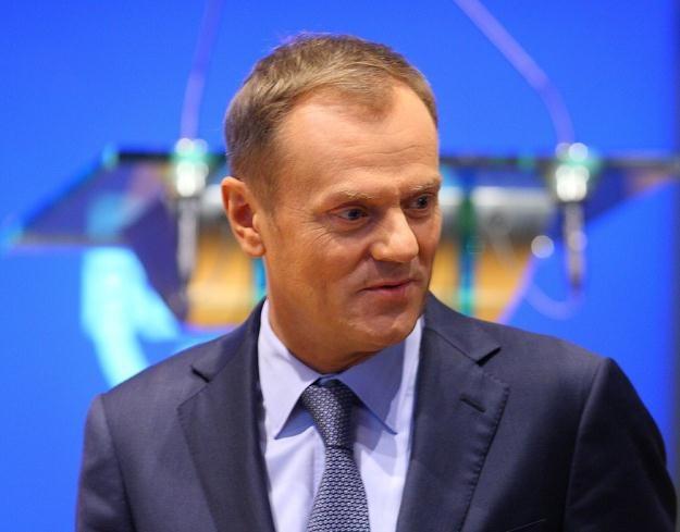 Premier Donald Tusk, fot. Stanisław Kowalczuk /East News