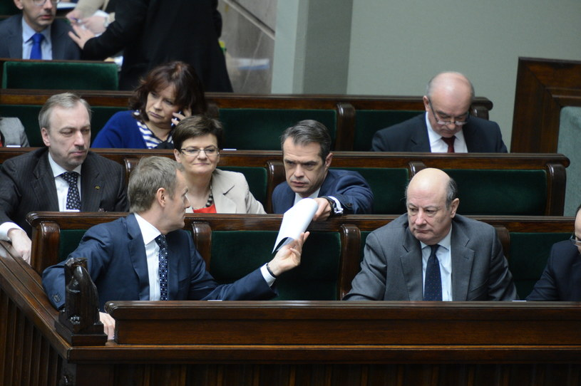 Premier Donald Tusk i Sławomir Nowak /PAP