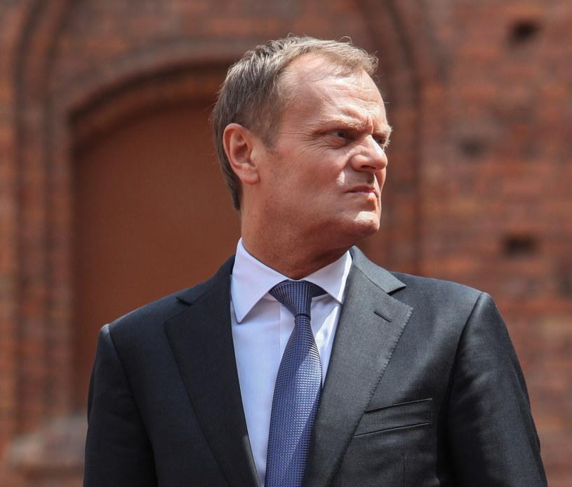 Premier Donald Tusk /Jakub Kamiński   /PAP