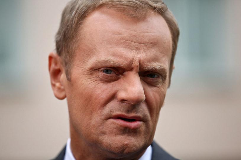 Premier Donald Tusk /Rafał Guz /PAP