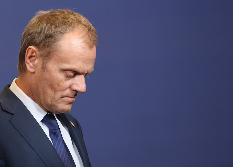 Premier Donald Tusk /Leszek Szymański. /PAP