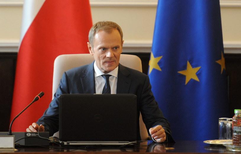 Premier Donald Tusk /Bartłomiej Zborowski /PAP