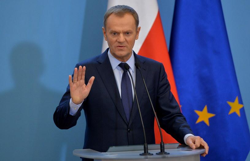 Premier Donald Tusk /Radek Pietruszka /PAP