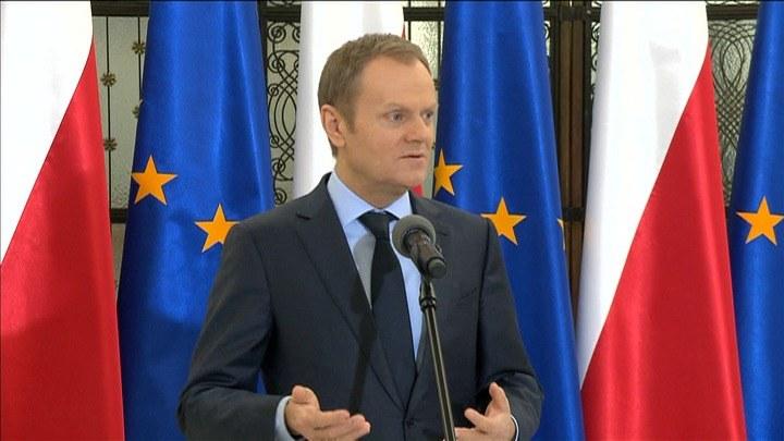Premier Donald Tusk /TVN24/x-news