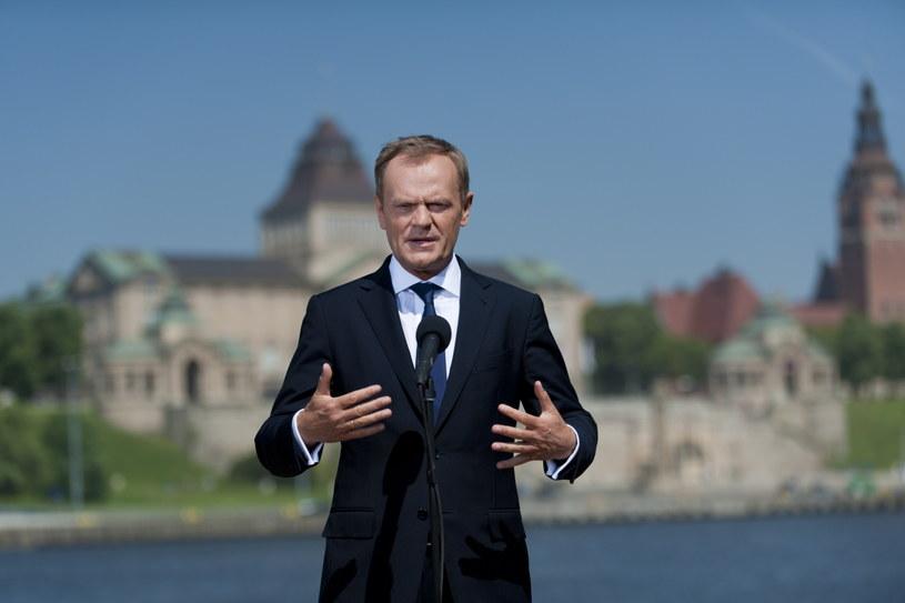 Premier Donald Tusk. /Tomek Murański /PAP