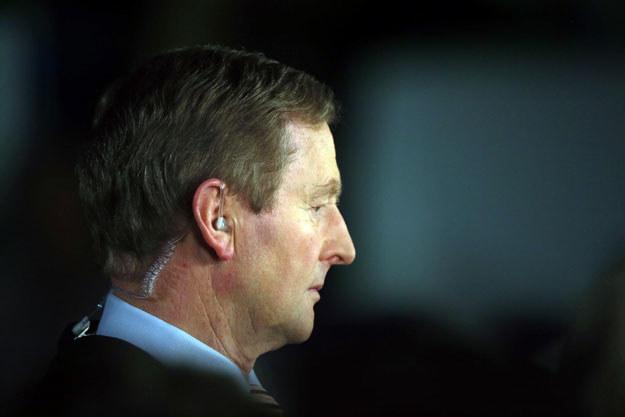 Premier Enda Kenny przyznał się do porażki /AFP