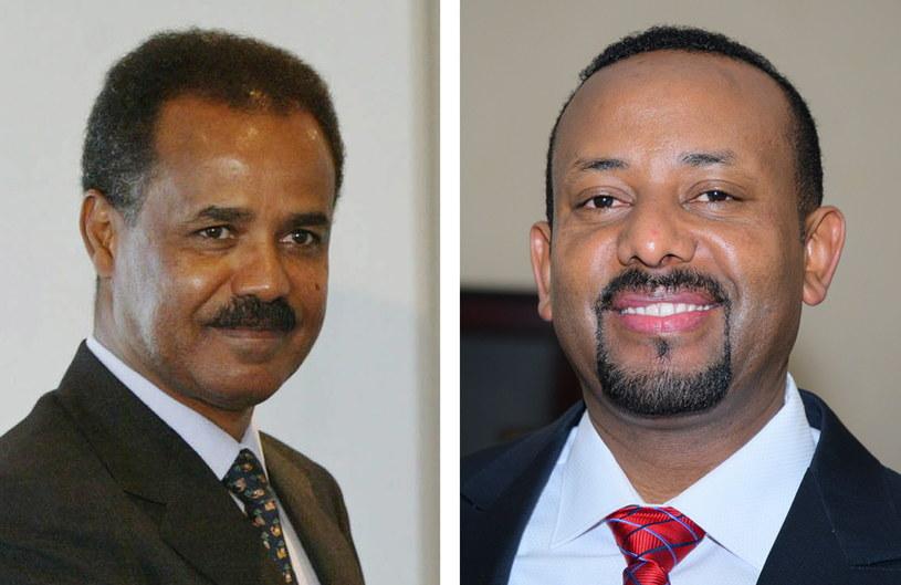 Premier Etiopii Abiy Ahmed i prezydent Erytrei Isaias Afwerk / STR   /PAP