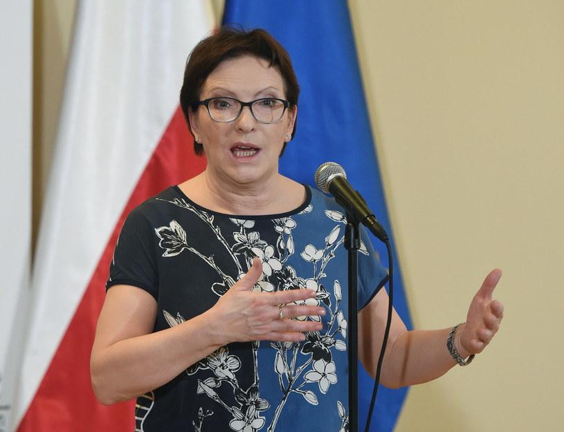 Premier Ewa Kopacz pojawi się w Krakowie /Radek Pietruszka /PAP