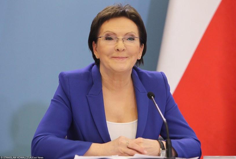 Premier Ewa Kopacz postanowiła przyznać specjalne świadczenie emerytalne matce /Piotr Bławicki /Agencja SE/East News