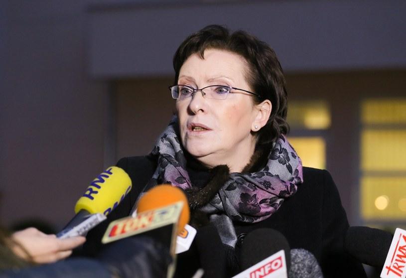 Premier Ewa Kopacz /Paweł Supernak /PAP