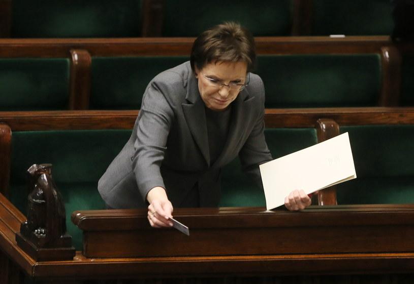 Premier Ewa Kopacz /Tomasz Gzell /PAP