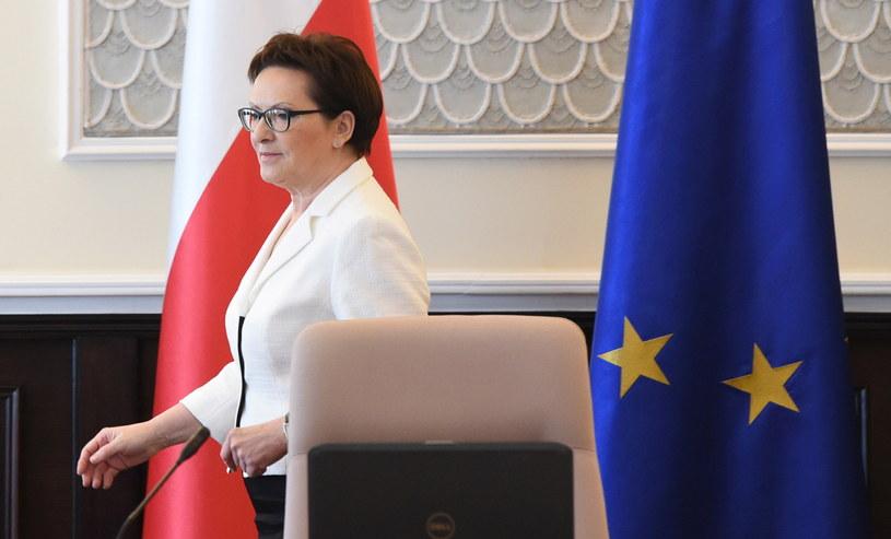 Premier Ewa Kopacz /PAP