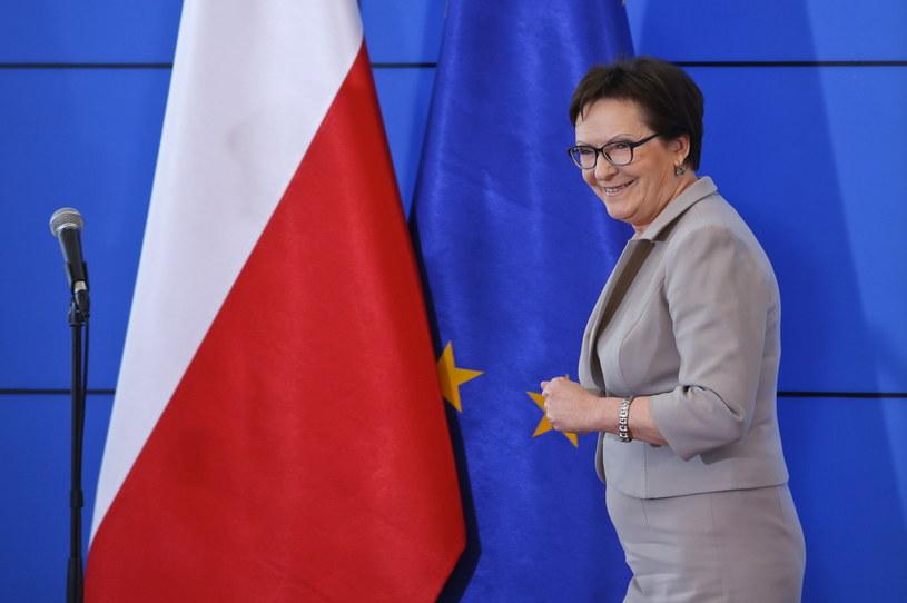 Premier Ewa Kopacz /Rafał Guz /PAP