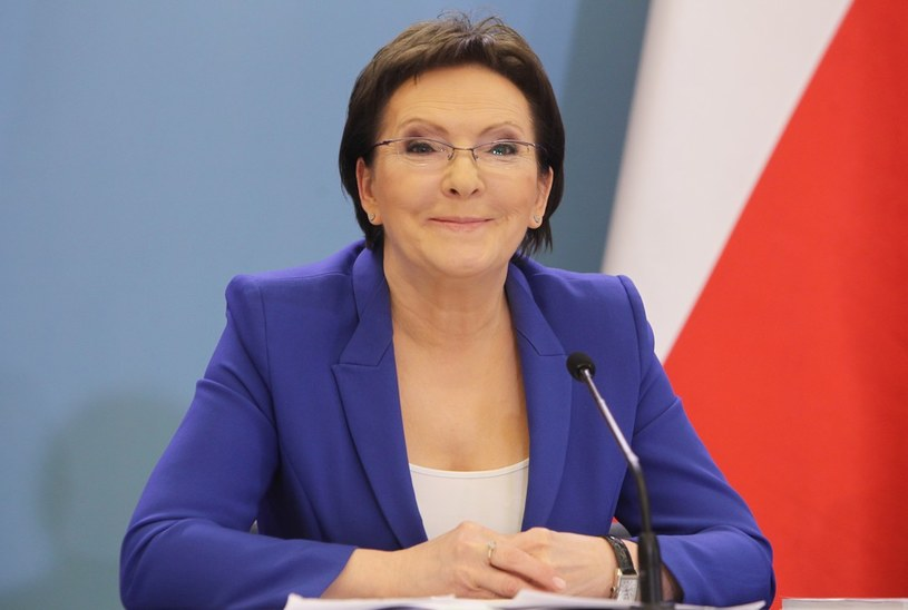 Premier Ewa Kopacz /Stanisław Kowalczuk /East News