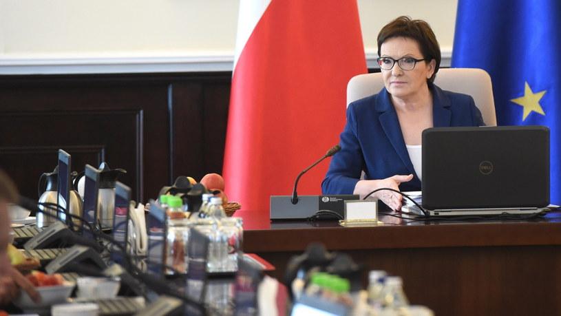 Premier Ewa Kopacz /Radek Piertuszka /PAP