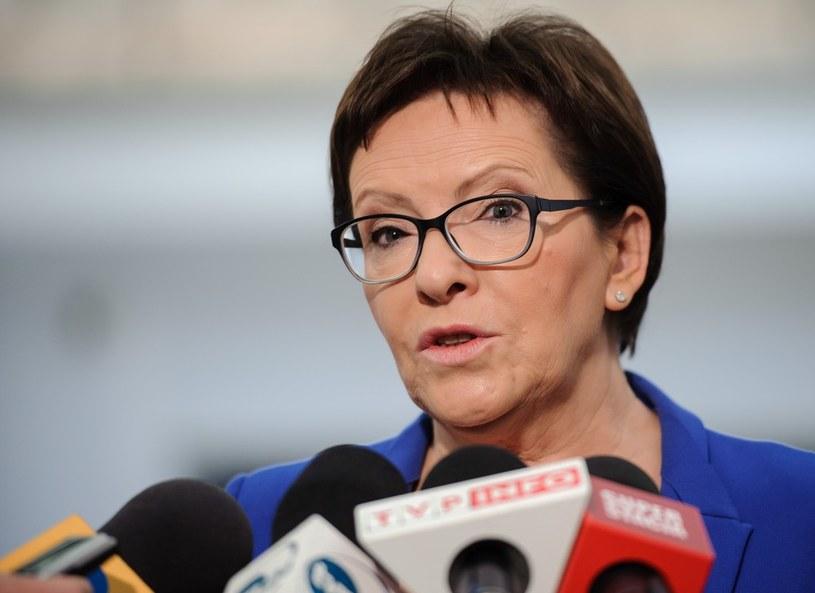 Premier Ewa Kopacz /Rafal Oleksiewicz/REPORTER /East News