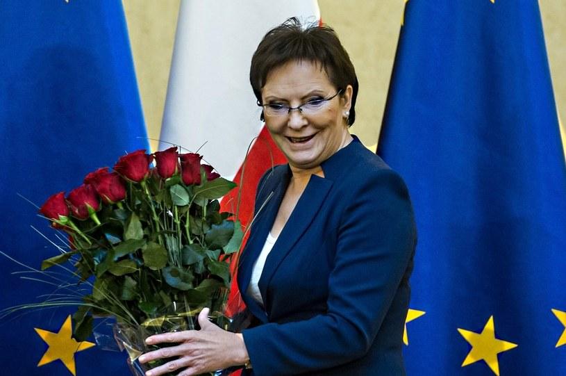 Premier Ewa Kopacz /Jacek Domiński /Reporter