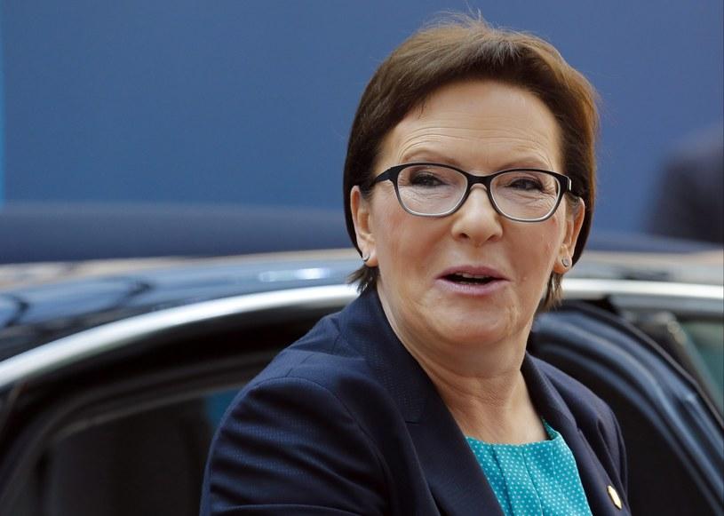 Premier Ewa Kopacz /JULIEN WARNAND /PAP/EPA