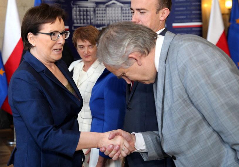 Premier Ewa Kopacz /Andrzej Grygiel /PAP