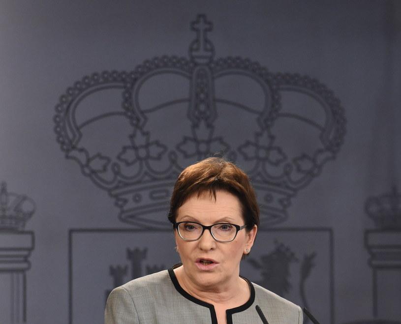 Premier Ewa Kopacz /Radek Pietruszka /PAP