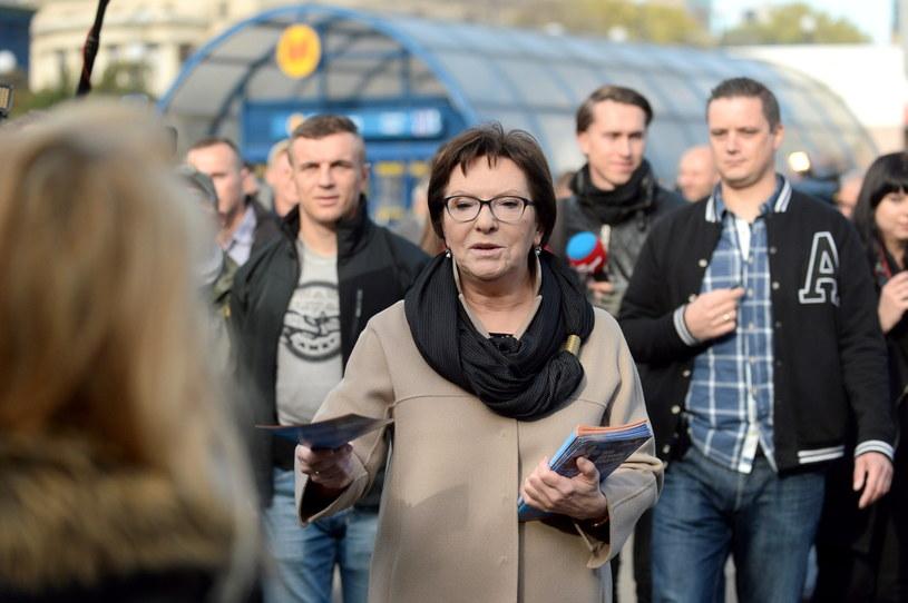Premier Ewa Kopacz /Bartłomej Zborowski /PAP