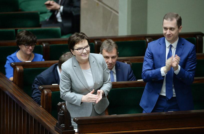 Premier Ewa Kopacz /Jacek Turczyk /PAP
