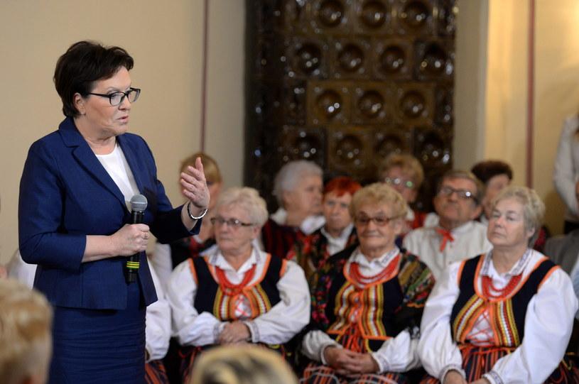 Premier Ewa Kopacz /Piotr Polak /PAP