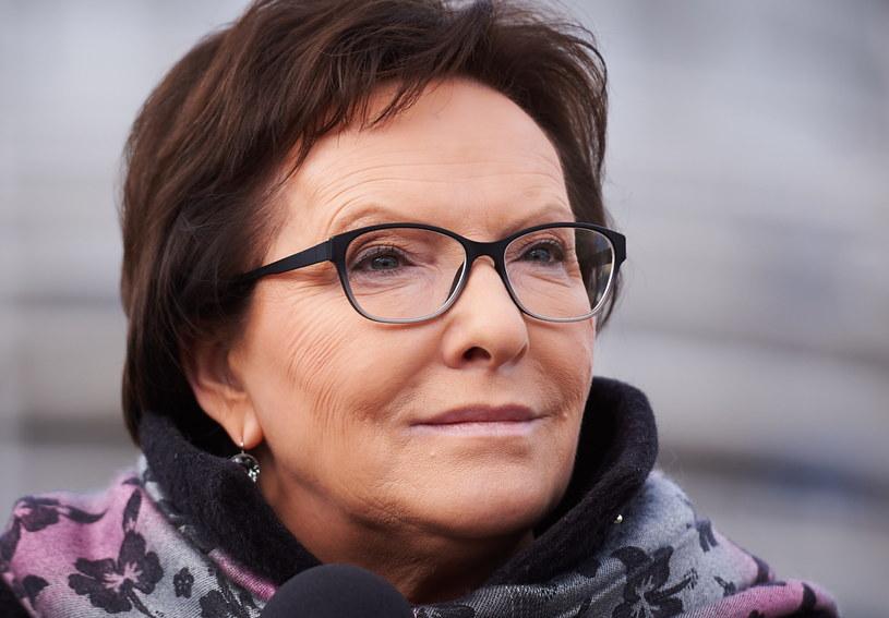 Premier Ewa Kopacz /Adam Warżawa /PAP