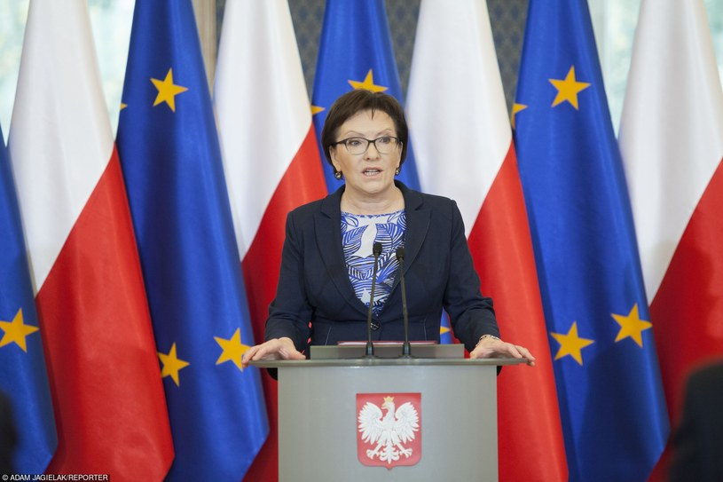Premier Ewa Kopacz /Adam Jagielak / REPORTER /East News