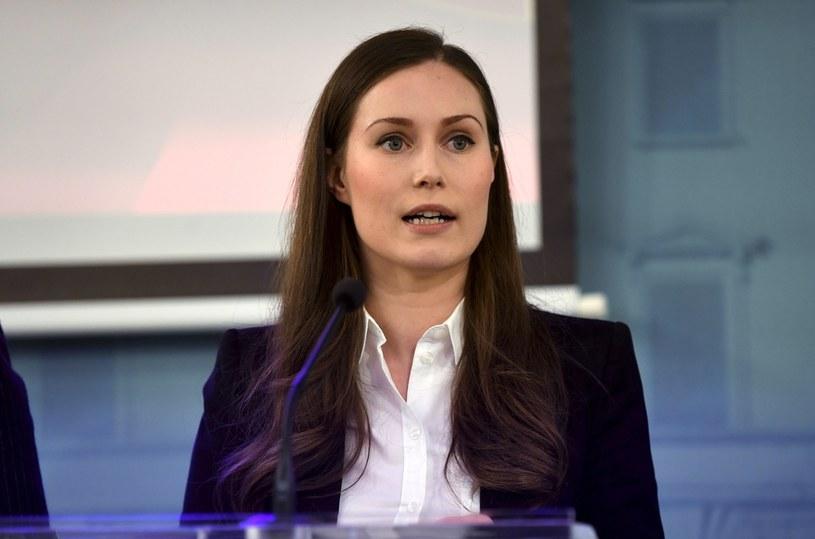 Premier Finlandii Sanna Marin /AFP