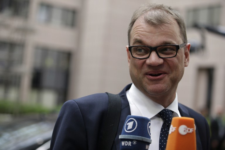 Premier Finlandii /AFP