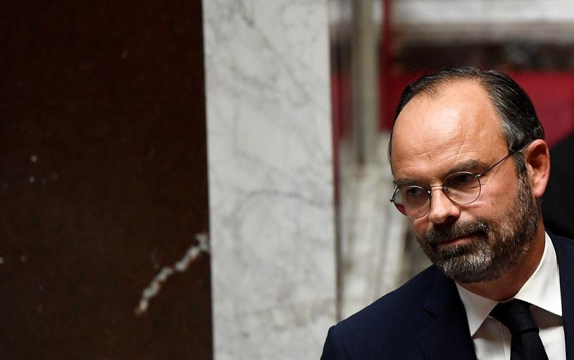 Premier Francji Edouard Philippe /AFP