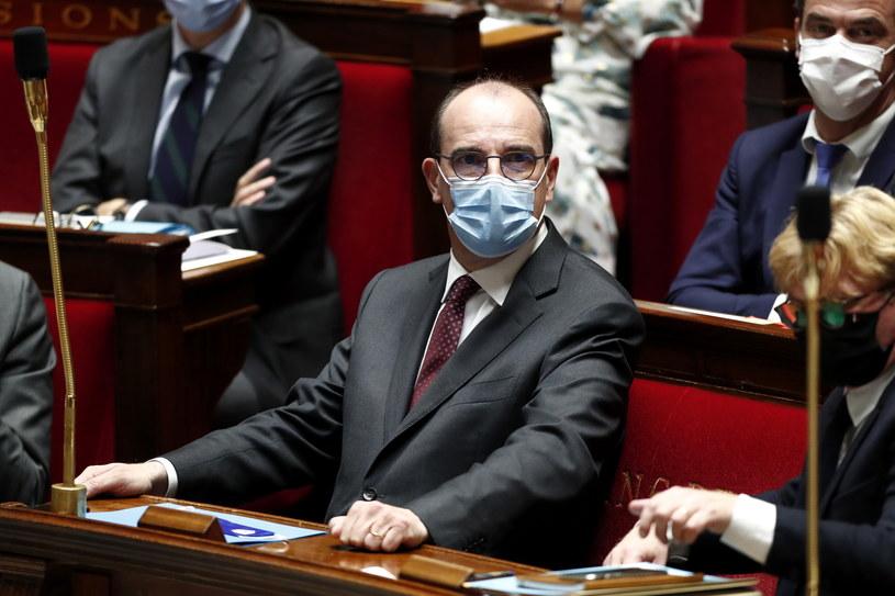 Premier Francji Jean Castex /IAN LANGSDON /PAP/EPA