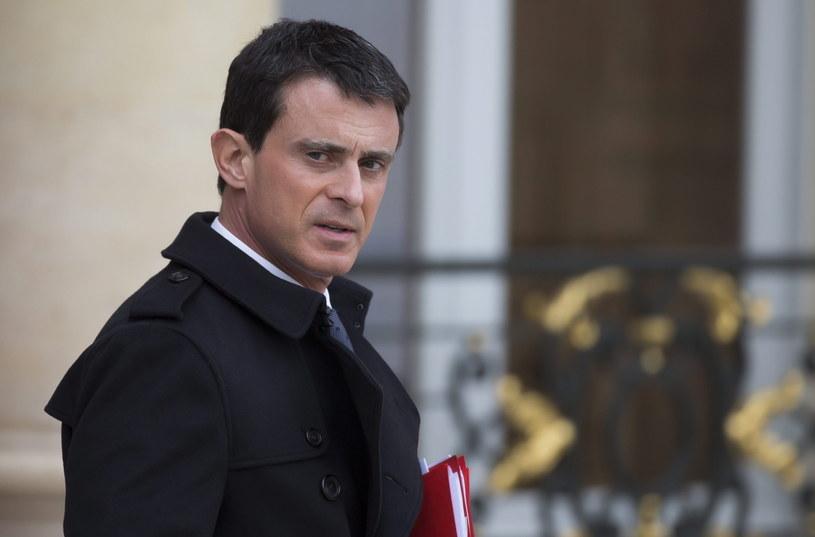 Premier Francji Manuel Valls /PAP/EPA