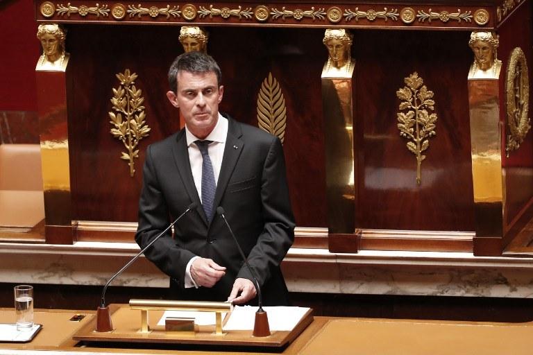 Premier Francji Manuel Valls /AFP