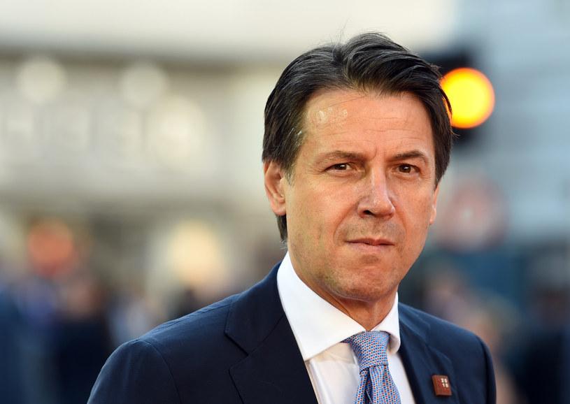 Premier Giuseppe Conte /CHRISTOF STACHE /AFP